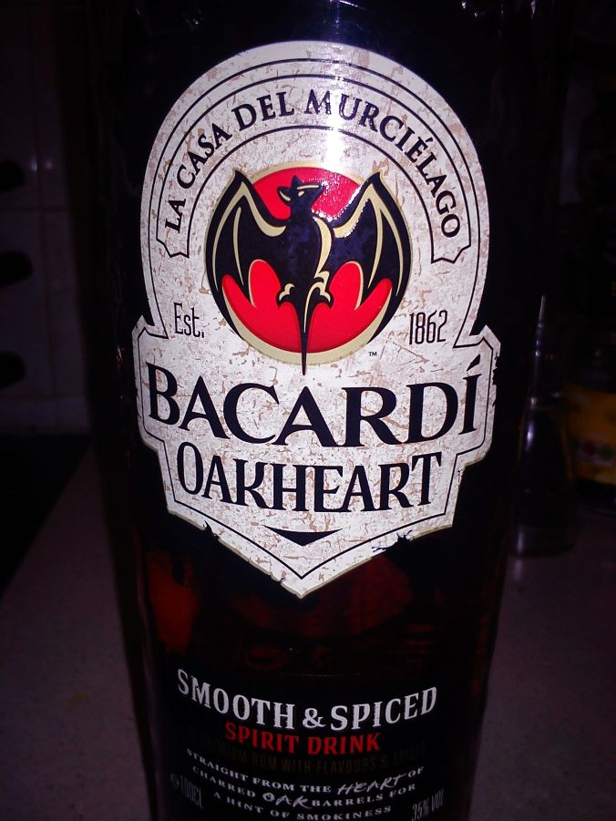 Bacardi Oakheart. Rich and spicy and well worth a try.