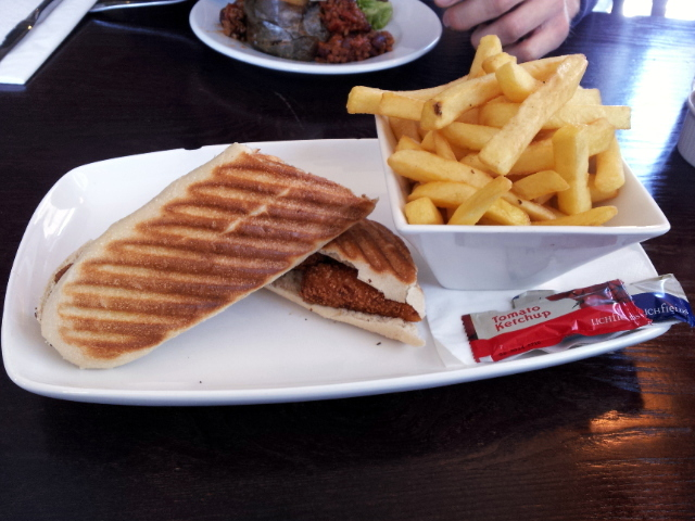 Does this look like a £7.40 lunch to you? No. Me either.