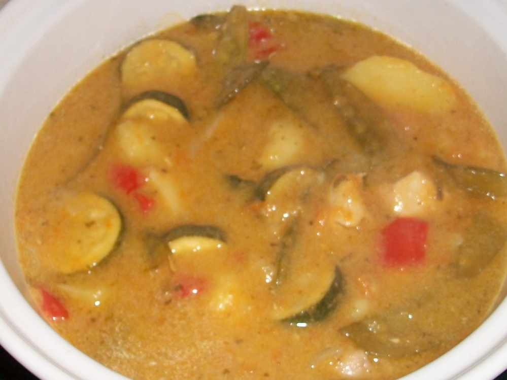 Thai Curry from Ian, really warming and punchy with chunky veg. Delicious, perfect winter food.